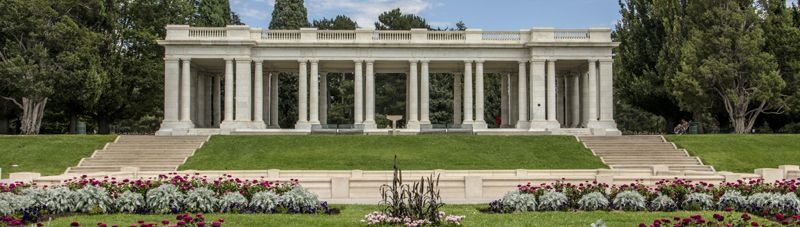 Pavillion at Cheesman Park in Denver, Colorado by Carol Highsmith.