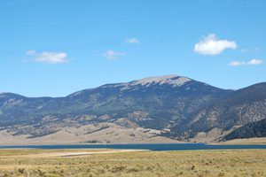Eagle Nest Lake and Touch Me Not Mountain by Kathy Weiser-Alexander.