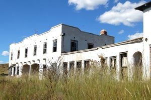 The abandoned Eagle Nest Lodge, by Kathy Weiser-Alexander.