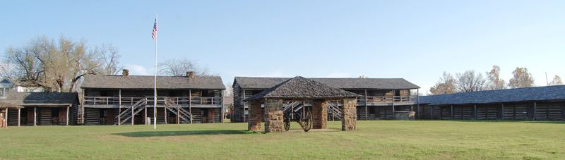 Fort Gibson, Oklahoma by Kathy Weiser-Alexander.