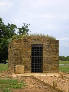 Fort Griffin, Texas Jail by Kathy Weiser-Alexander.