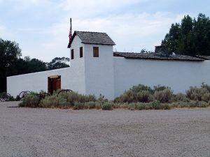 Replica Fort Hall in Pcatello, Idaho courtesy Wikipedia.