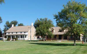 Fort Dodge, Kansas Buildings by Kathy Weiser-Alexander.
