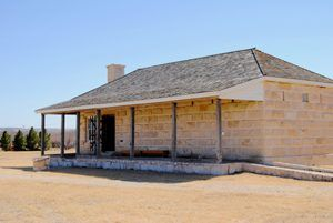Fort Stockton Guardhouse by Kathy Weiser-Alexander.