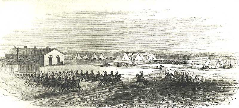 Fort Wallace, Kansas, 1867