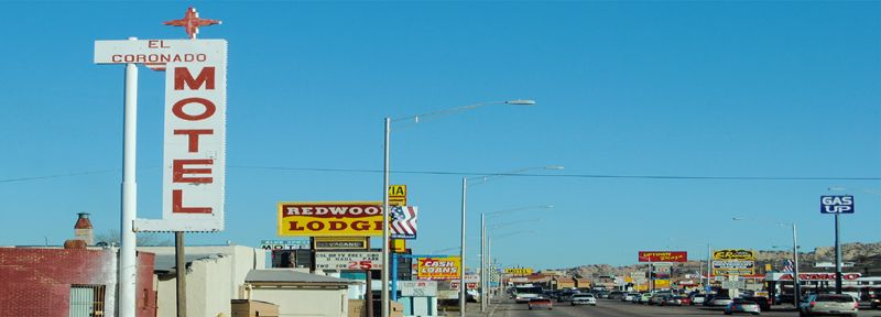 Route 66, Gallup, New Mexico by Kathy Weiser-Alexander