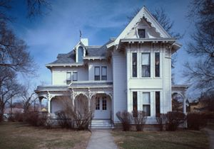 Harry S. Truman House in Independence, Missouri by the Historic American Buildings Survey.