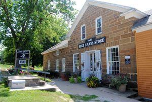 General Store in High Amana, Iowa by Kathy Weiser-Alexander.