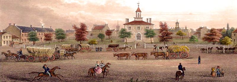 Independence, Missouri Square, 1850