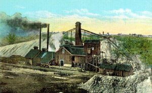 Lead mine in Joplin, Missouri.