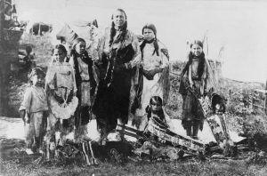 Kiowa Indians by J. V. Dedrick, 1908.