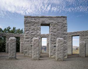 Sam Hill's Stonehenge in Maryhill, Washington by Carol Highsmith.
