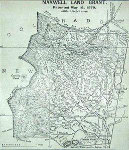 Maxwell Land Grant Map