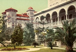 Hotel Green, Pasadena, California about 1900.