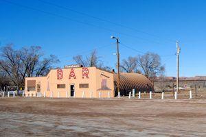 Prewitt, New Mexico bar by Kathy Weiser-Alexander.