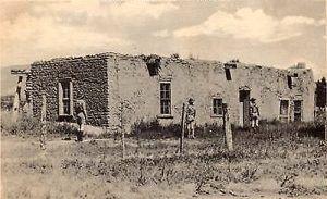 Kit Carson House, Rayado, New Mexico in the 1940s.