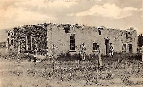Kit Carson House, Rayado, New Mexico in the 1940s.