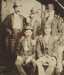 The Reno Gang of Indiana were train robbers.