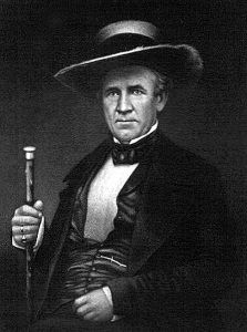Texas President Samuel Houston