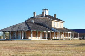Fort Concho, Texas by Kathy Weiser-Alexander.