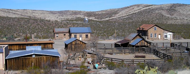 View of Shakespeare, New Mexico by Kathy Weiser-Alexander.