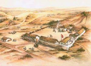 Spanish Presidio, 1790