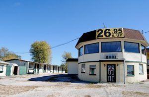 A closed motel in Stanton, Missouri.