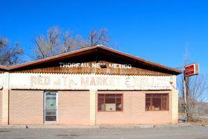 Thoreau, New Mexico Market by Kathy Weiser-Alexander.