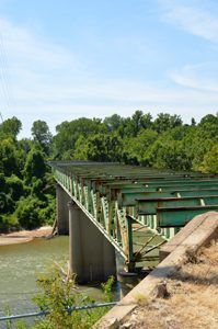 The 1932 Meramec River Bridge closed in 2009 due to safety reasons. Funds are being raised to save the bridge today. By Kathy Weiser-Alexander.