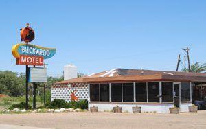 Buckaroo Motel, Tucumcari, New Mexico