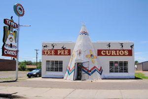 Tee Pee Curios in Tucumcari, New Mexico.