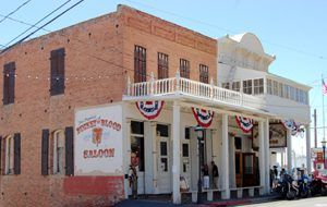 Bucket of Blood Saloon in Virginia City, Nevada by Kathy Weiser-Alexander.
