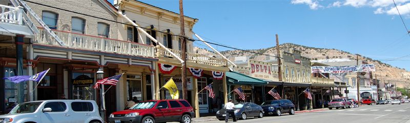 Virginia City, Nevada by Kathy Weiser-Alexander.