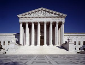 United States Supreme Court Building in Washington DC by Carol Highsmith.
