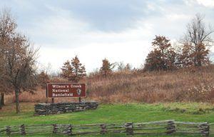 Wilson Creek Battlefield near Springfield, Missouri by Kathy Weiser-Alexander.