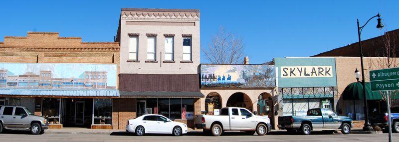Winslow, Arizona by Kathy Weiser-Alexander.
