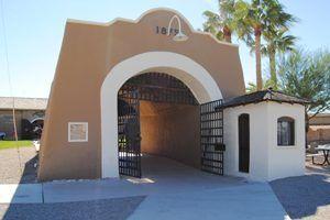 Yuma, Arizona Prison Sallyport by Kathy Weiser-Alexander.