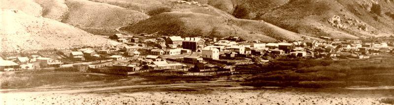 Bannack, Montana, late 1800s.