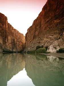 Bluffs Above the Rio Grande in Big Bend National Park in Texas by Carol Highsmith.