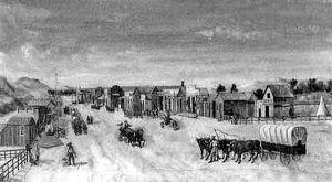Boise City, Idaho, 1864.