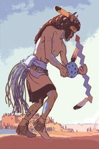 Buffalo Dancer by Don Louis Perceval