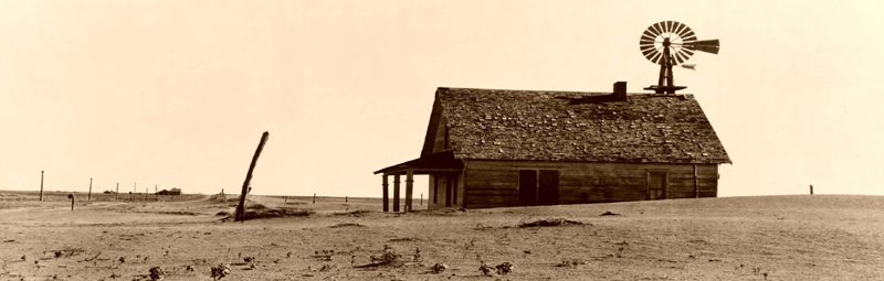 Dustbowl Farm Near Dalhart, Texas 1938