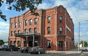 Grand Union Hotel in Fort Benton, Montana's Historic District, courtesy Wikipedia.