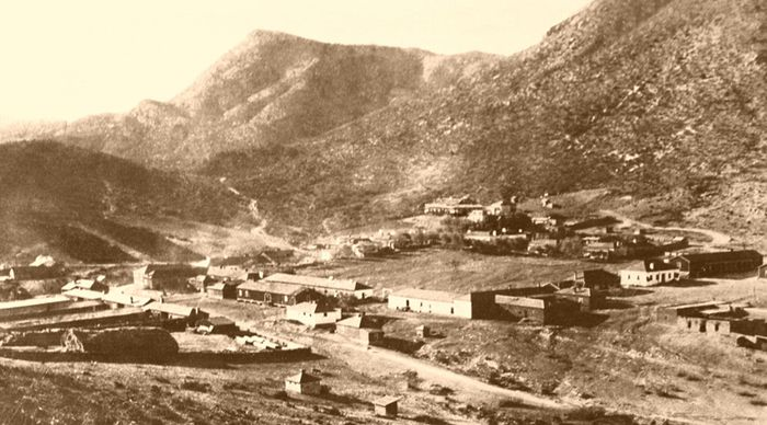 Fort Bowie, Arizona - 1894