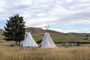 Fort Phil Kearny, Wyoming Tipis