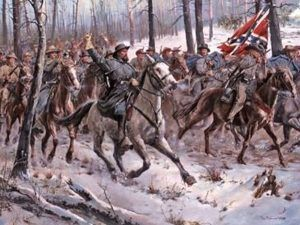 General Nathan Bedford Forrest by Don Troiani