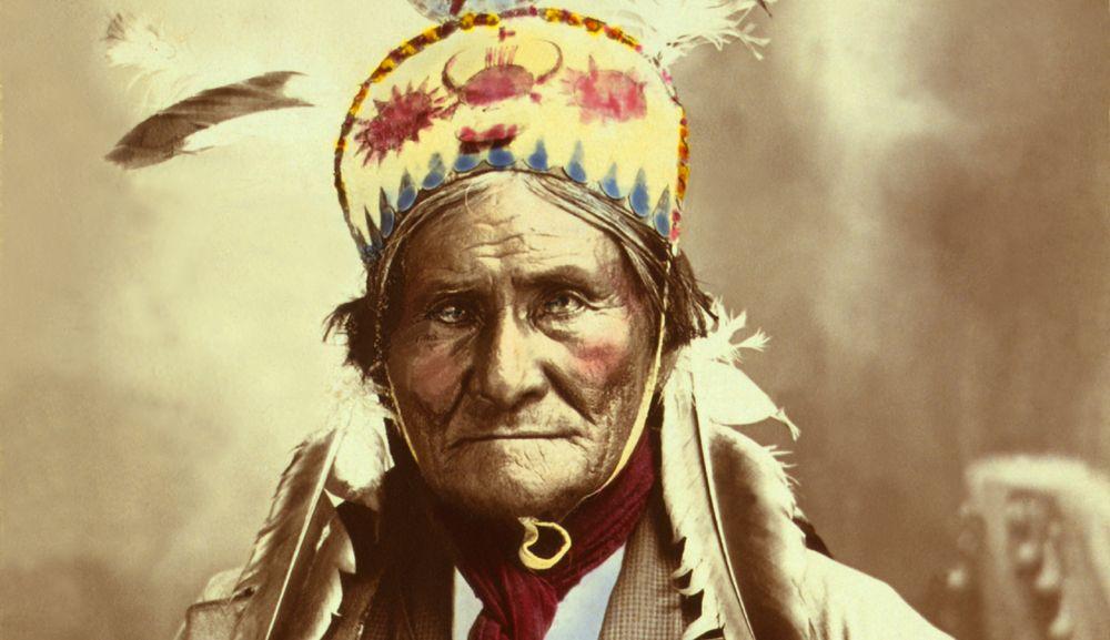 Geronimo, 1903, by J.W. Collins