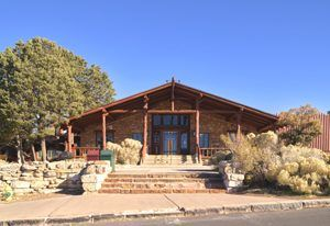 Bright Angel Lodge at Grand Canyon, Arizona by Carol Highsmith.
