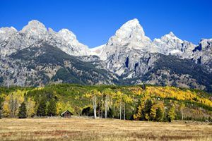 Grand Teton National Park, Wyoming by Carol Highsmith.