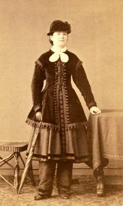 Mary Edwards Walker about 1867.